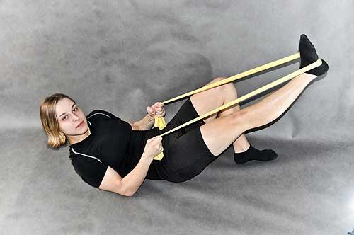 posílení břišních svalů a zpevnění hýždí