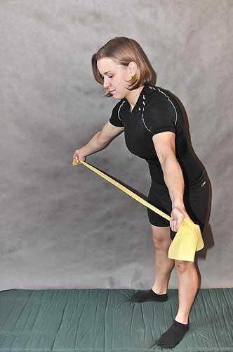 Cvik na zpevnění prsou, posílení ramen i zad