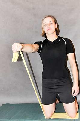 Cvik na posílení přední části ramen