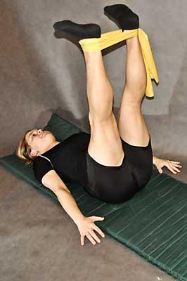 Cviky na zpevnění boků a posílení nohou
